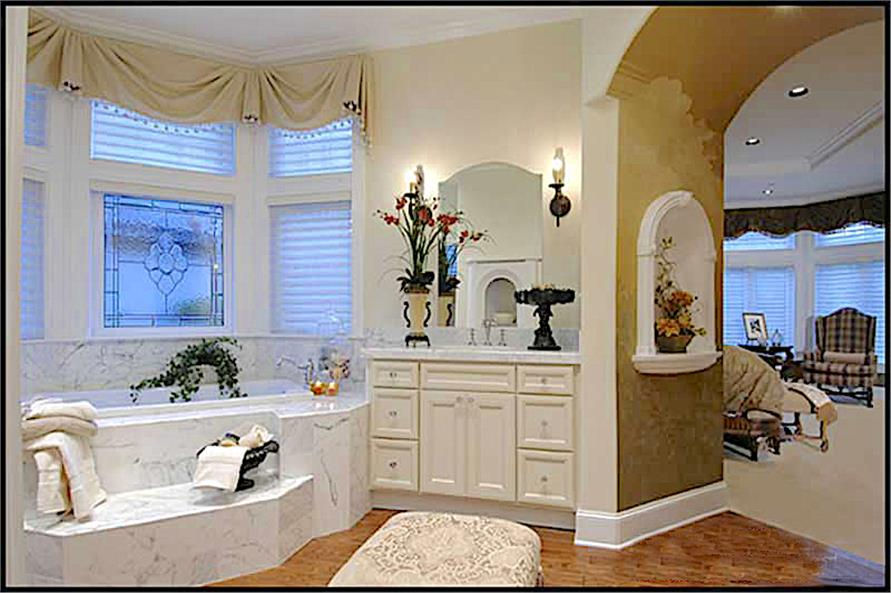Master Bathroom of this 4-Bedroom,4684 Sq Ft Plan -4684