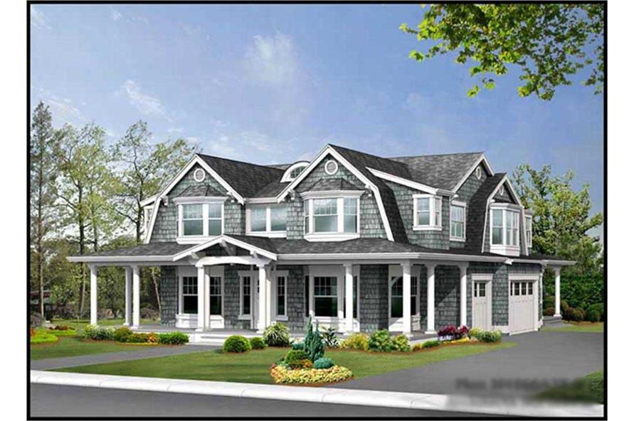 Main image for house plan # 15071