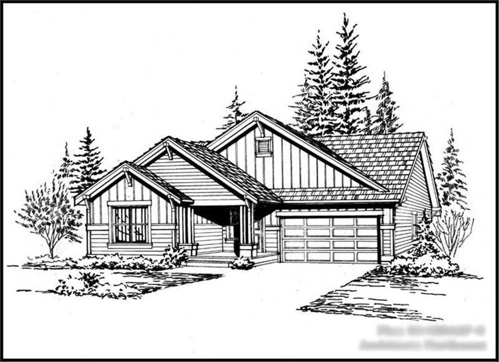 Main image for house plan # 15174