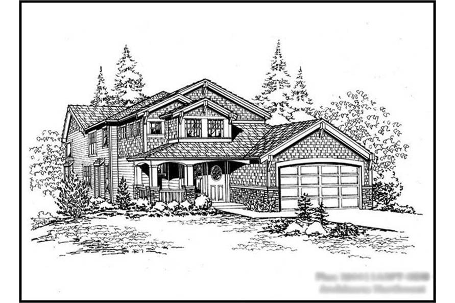 Main image for house plan # 15066