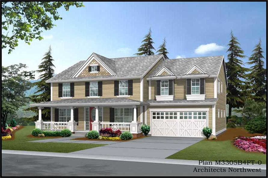 Main image for house plan # 14922
