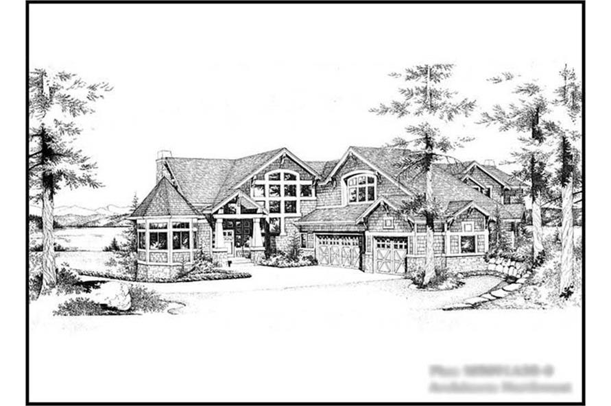 Main image for house plan # 15138