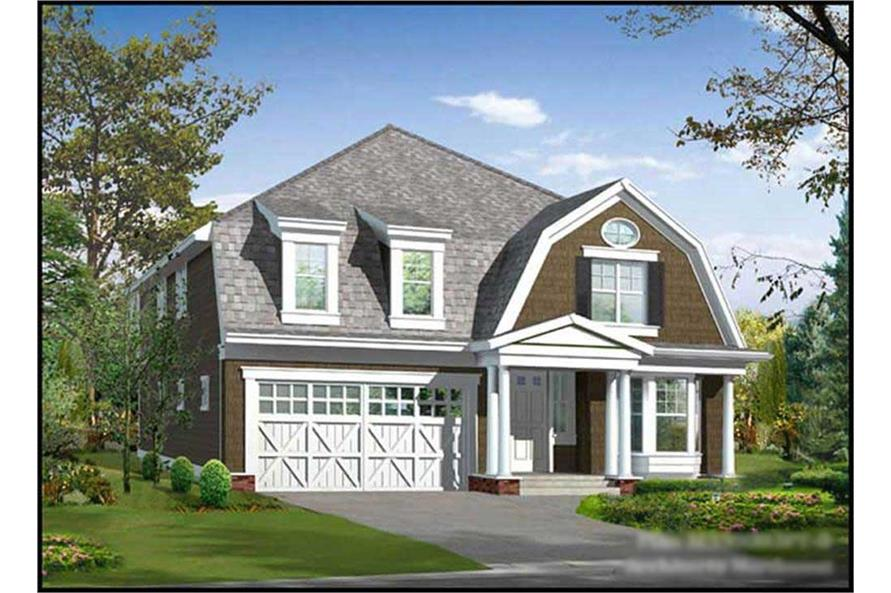 4-Bedroom, 3200 Sq Ft Farmhouse Home Plan - 115-1192 - Main Exterior