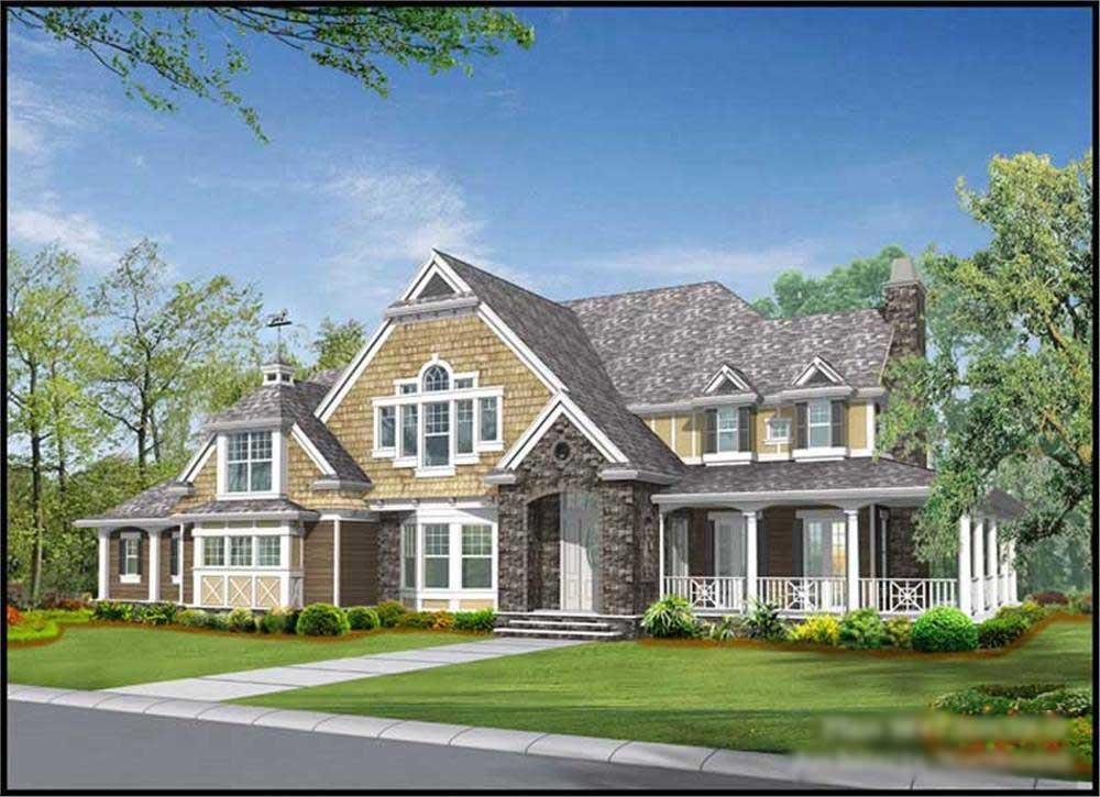 Main image for house plan # 15122