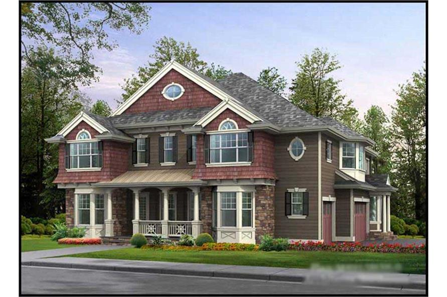 Main image for house plan # 15129