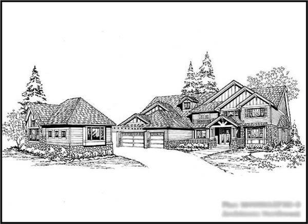 Main image for house plan # 15131