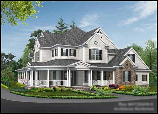 Main image for house plan # 15123