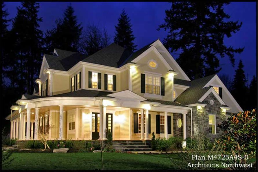 Country Luxury Home With 4 Bedrms 4725 Sq Ft Plan