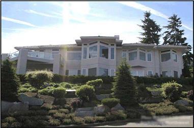4-Bedroom, 4291 Sq Ft Luxury Home Plan - 115-1202 - Main Exterior