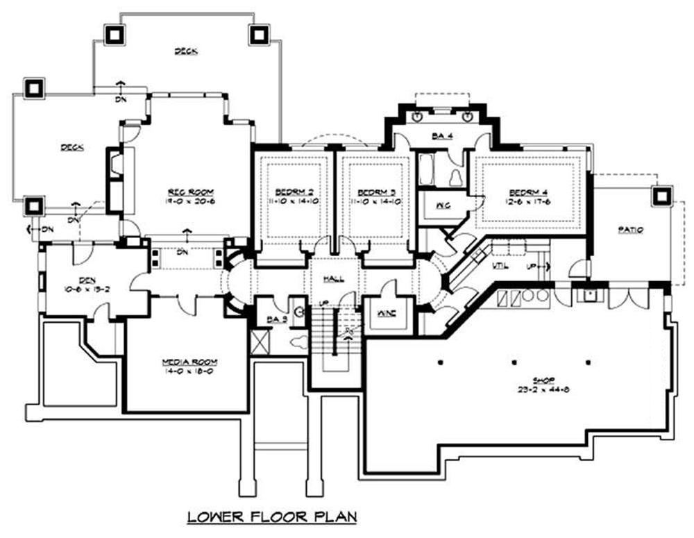 Luxury mediterranean home with 5 bedrms 5300 sq ft for Mediterranean house plans with basement