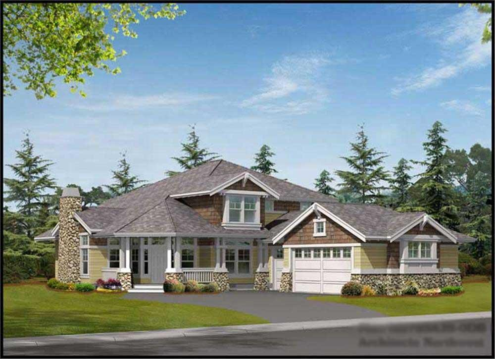 Main image for house plan # 14795