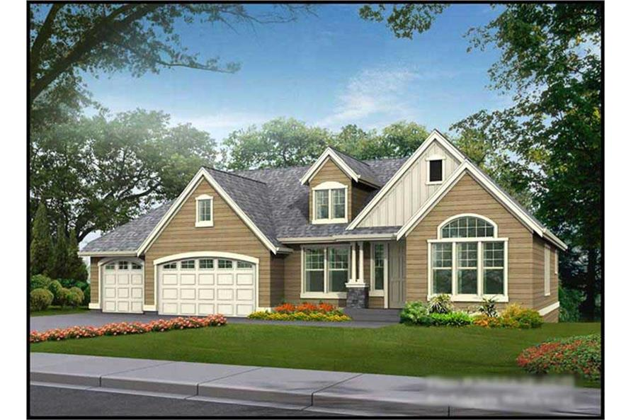 Main image for house plan # 15263