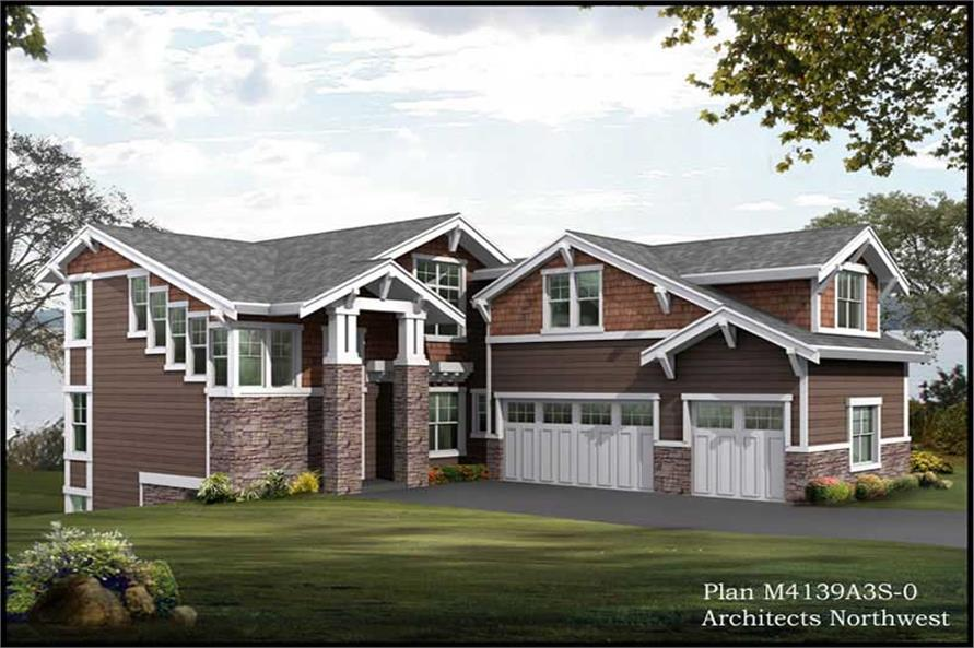 Main image for house plan # 15056