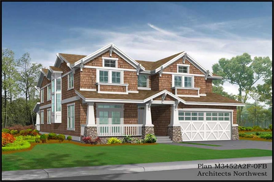 Main image for house plan # 9311
