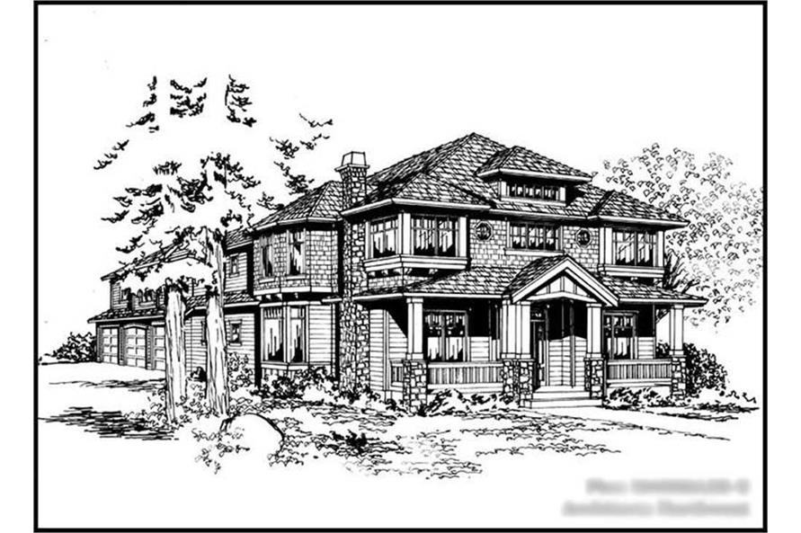 Main image for house plan # 15069