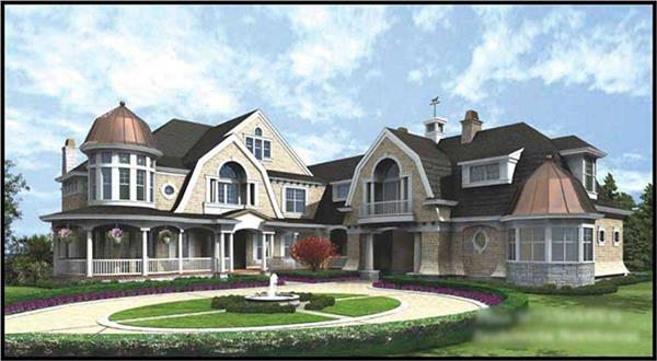 Main image for house plan # 15171