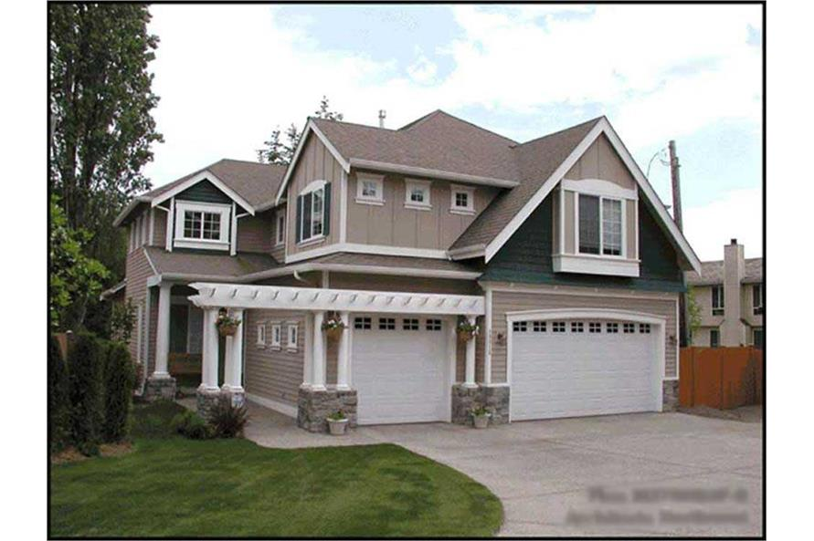 Main image for house plan # 9284