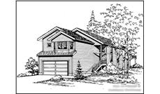 Main image for house plan # 15295