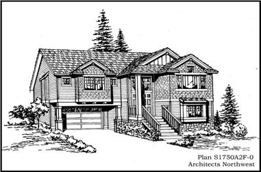 Main image for house plan # 15297