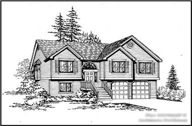Main image for house plan # 15298