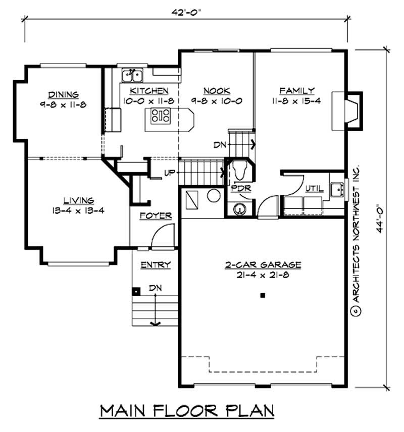 Craftsman small home with 3 bedrms 1700 sq ft plan for 1700 square foot house plans