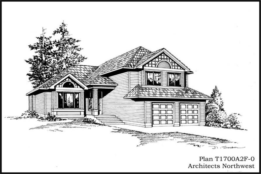 Main image for house plan # 15303