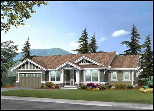 Main image for house plan # 9256