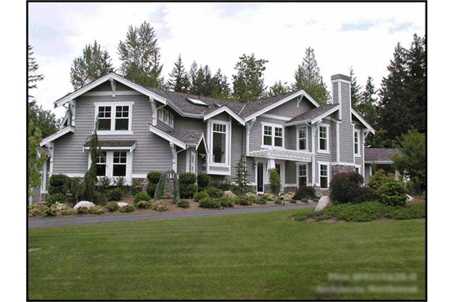 4-Bedroom, 4225 Sq Ft Luxury Home Plan - 115-1246 - Main Exterior