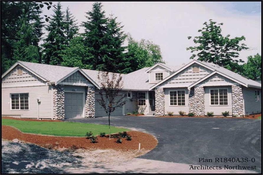 Main image for house plan # 15199