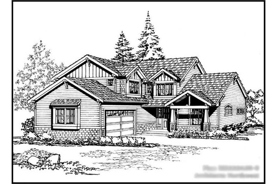 Main image for house plan # 14670