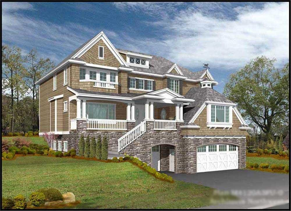 Main image for house plan # 9356