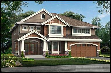 4-Bedroom, 3050 Sq Ft Ranch Home Plan - 115-1258 - Main Exterior