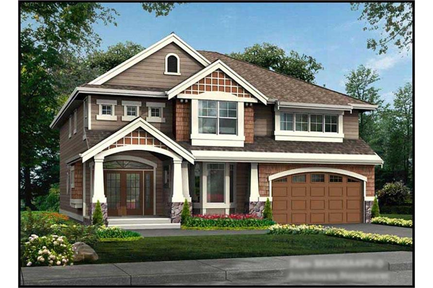 4-Bedroom, 3050 Sq Ft Ranch Home Plan - 115-1258 - Main Exterior