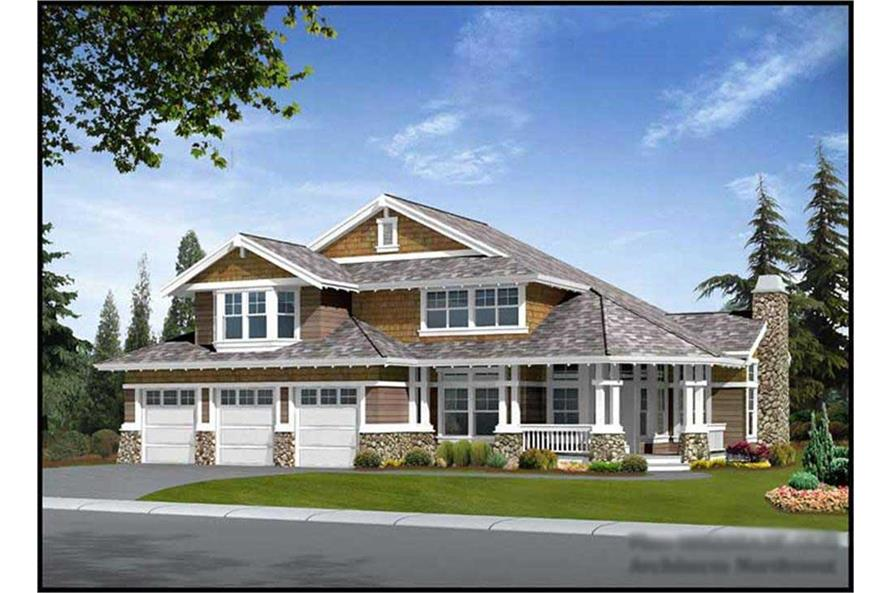 Main image for house plan # 14891