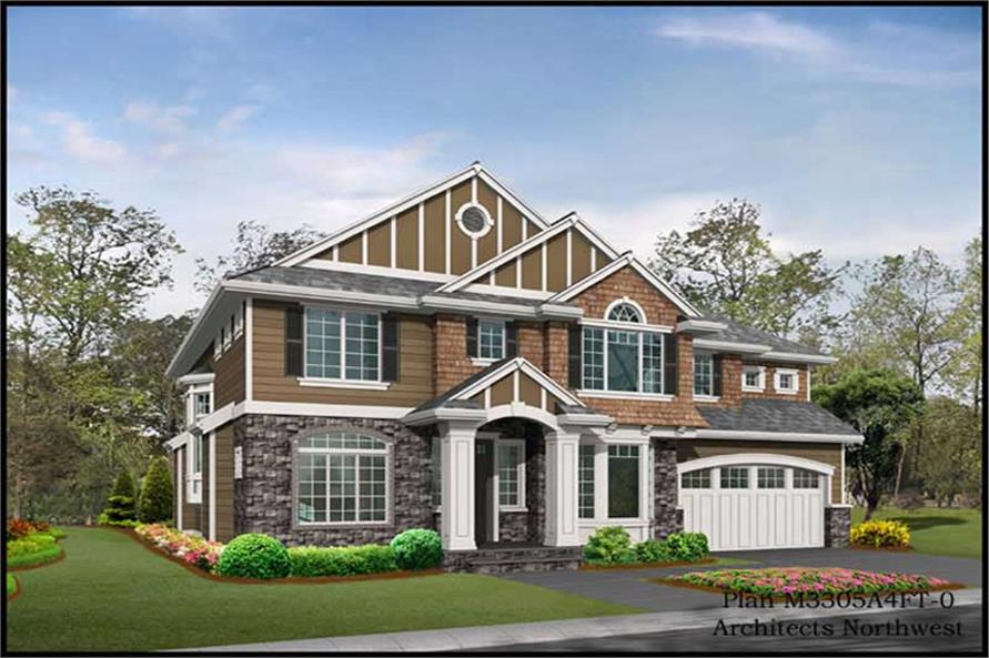 Main image for house plan # 14916