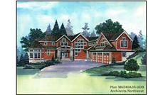 Main image for house plan # 15166