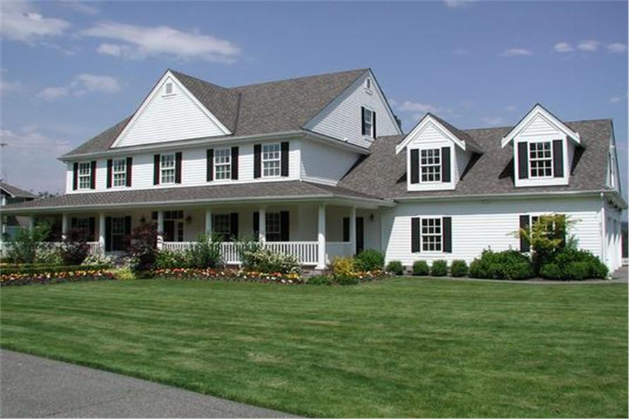 Front View of this 5-Bedroom,5315 Sq Ft Plan -115-1271
