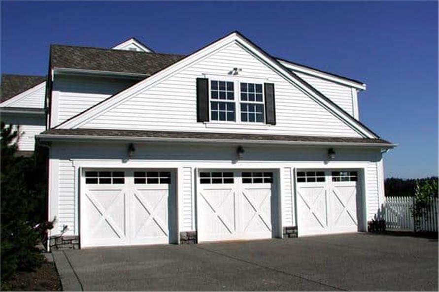 Garage of this 5-Bedroom,5315 Sq Ft Plan -115-1271