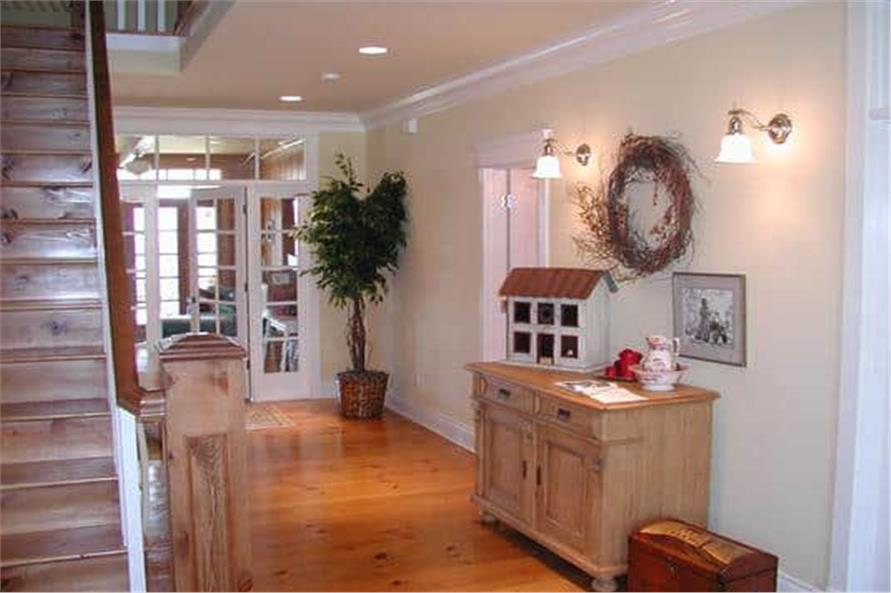 Entry Hall: Foyer of this 5-Bedroom,5315 Sq Ft Plan -115-1271