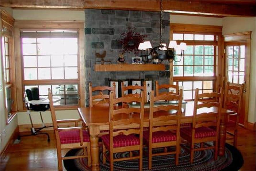 Kitchen: Breakfast Nook of this 5-Bedroom,5315 Sq Ft Plan -115-1271