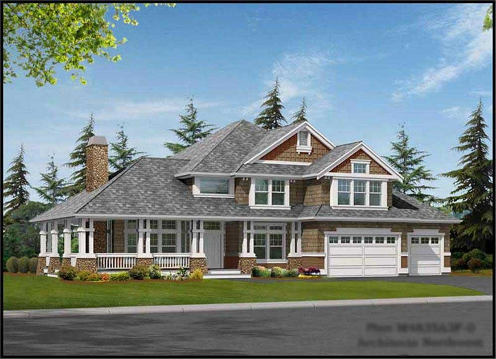 Main image for house plan # 15127