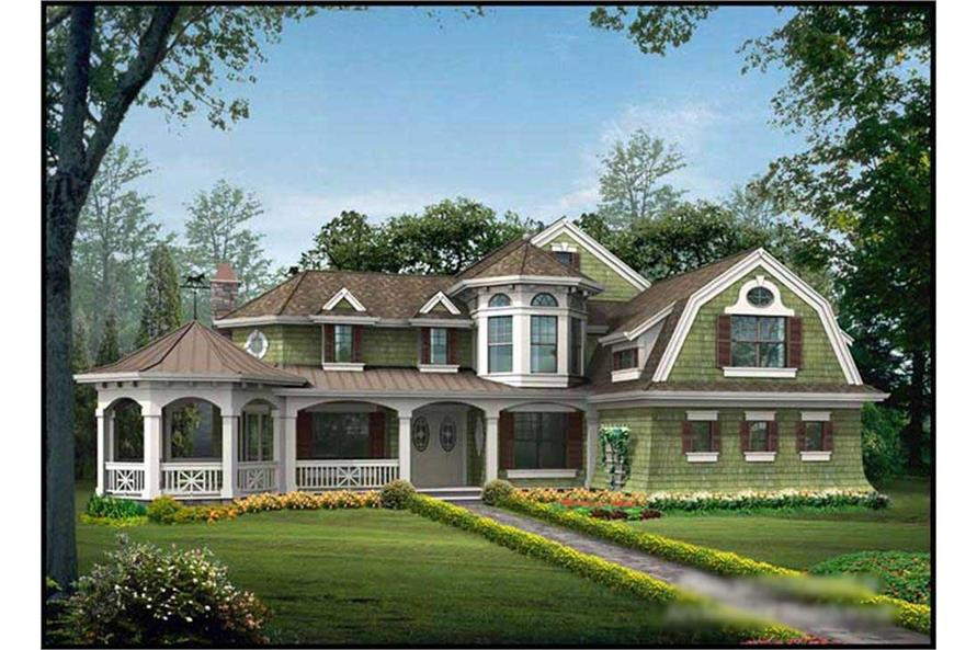 Main image for house plan # 14996