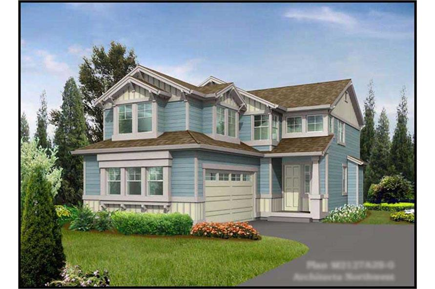 Main image for house plan # 9262