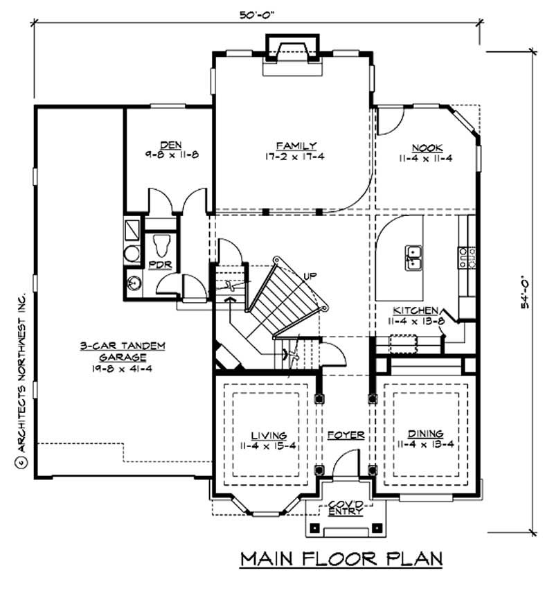 Craftsman traditional home with 4 bedrms 3400 sq ft for 3400 square feet house plan