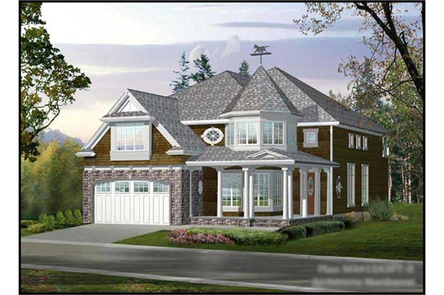 Main image for house plan # 9312