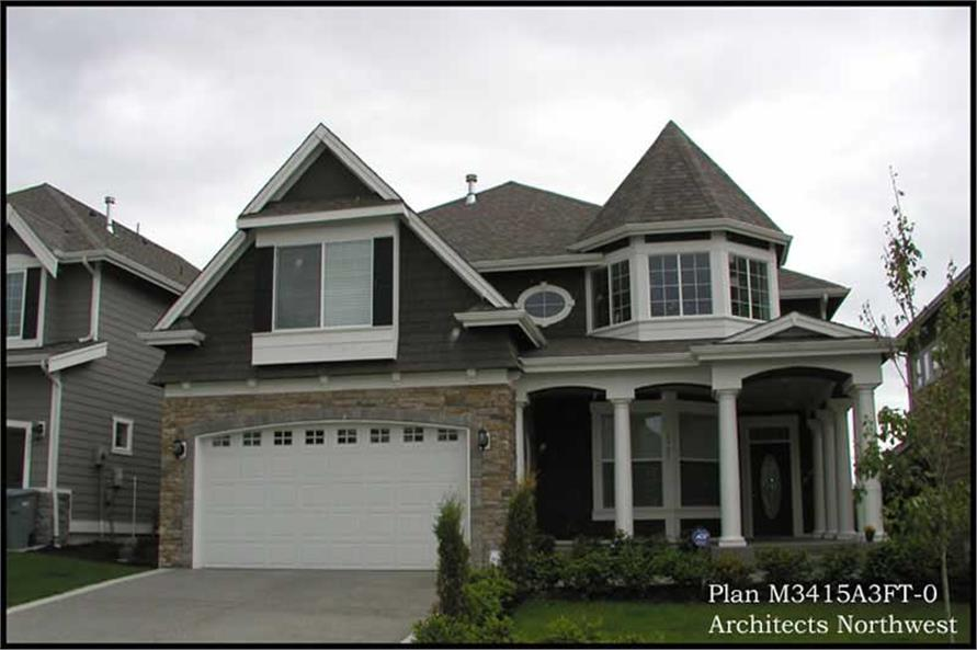 Home Exterior Photograph of this 4-Bedroom,3415 Sq Ft Plan -115-1283