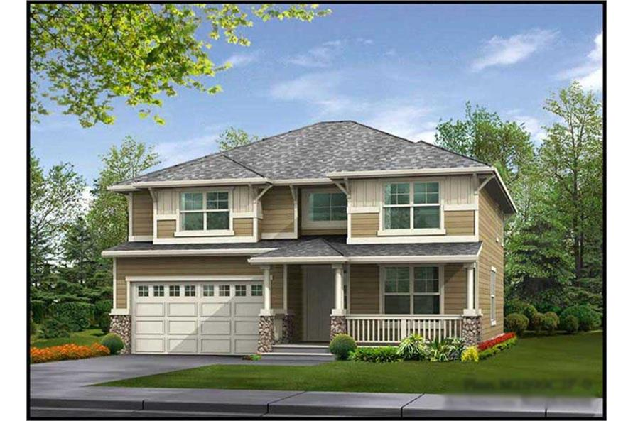 4-Bedroom, 2590 Sq Ft Ranch Home Plan - 115-1285 - Main Exterior