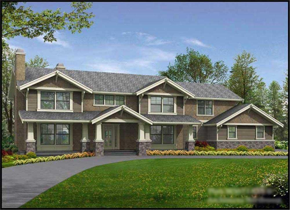 Main image for house plan # 15001