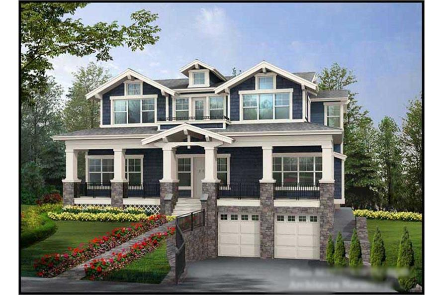 Main image for house plan # 15027