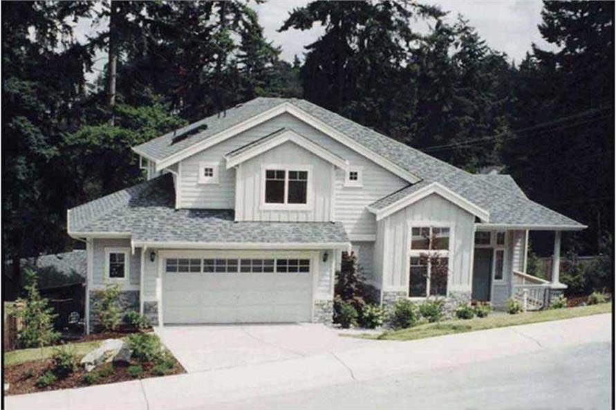3-Bedroom, 2270 Sq Ft Craftsman House Plan - 115-1292 - Front Exterior